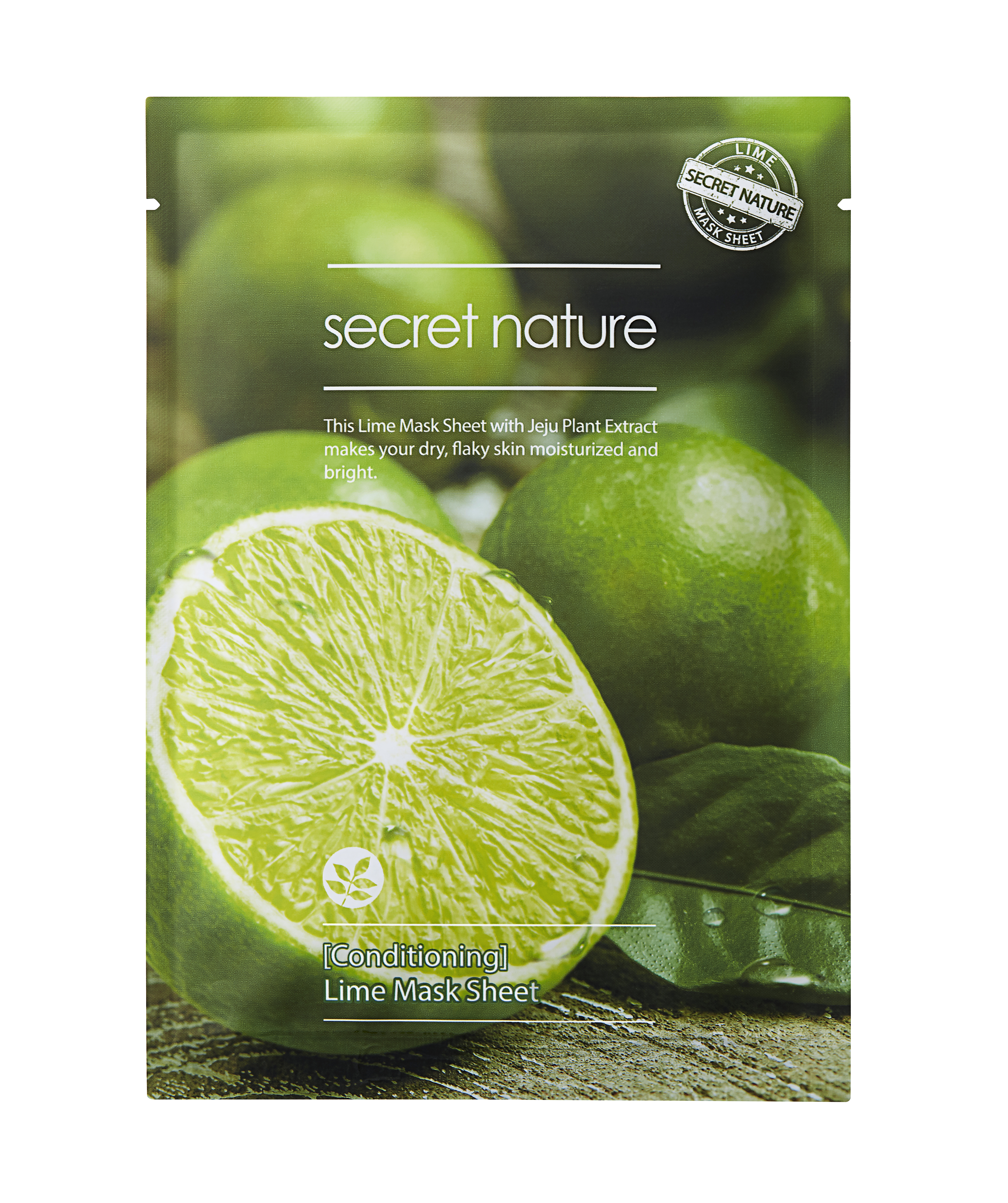 Тканевая маска для лица с лаймом Conditioning Lime Mask Sheet